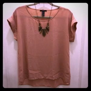 Blouse with FREE necklace!
